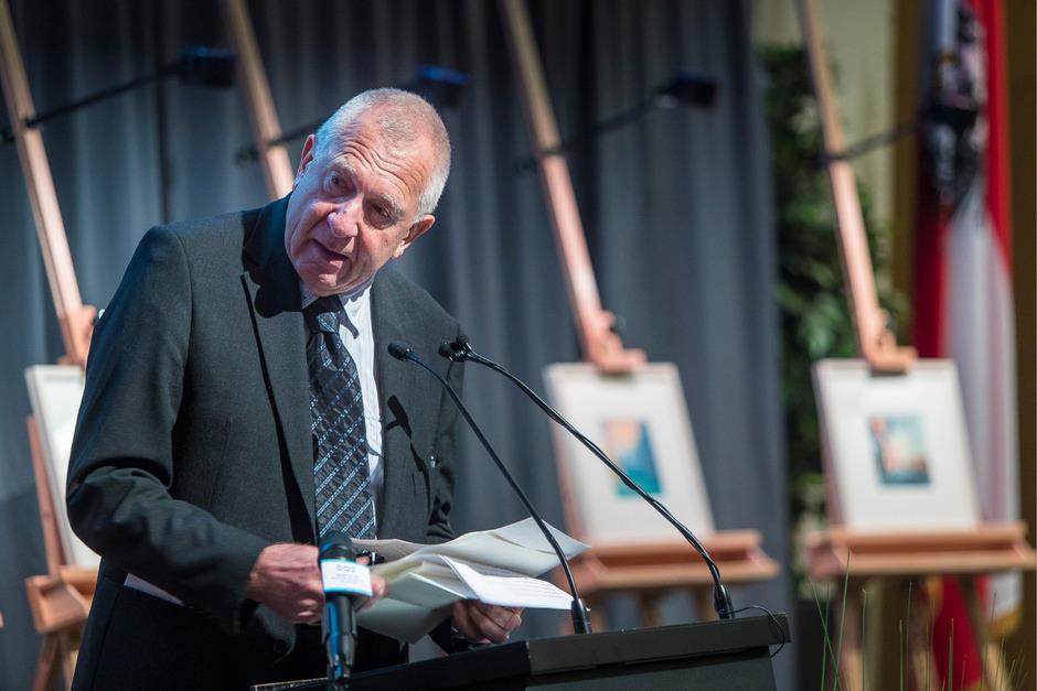 Günther Lieder, Präsident der Israelitischen Kultusgemeinde Tirol.