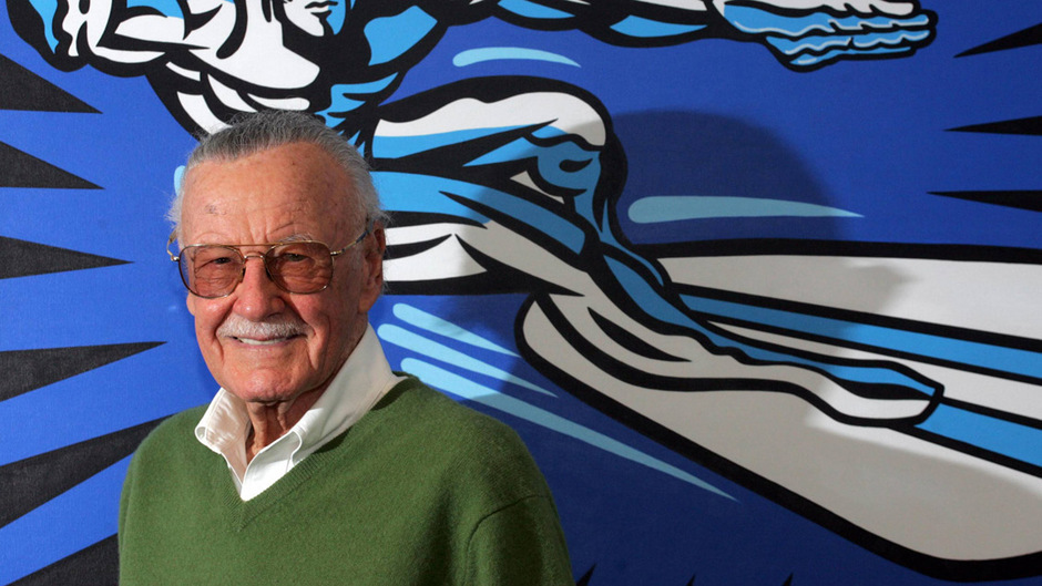 Stan Lee schuf mit seinen Kollegen rund 350 Comicfiguren.