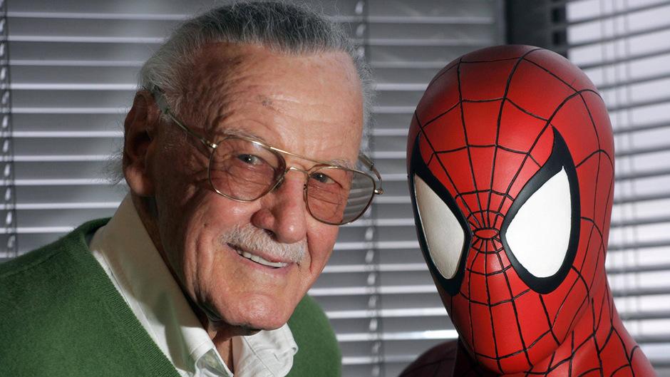 Stan Lee und sein Spider-Man.