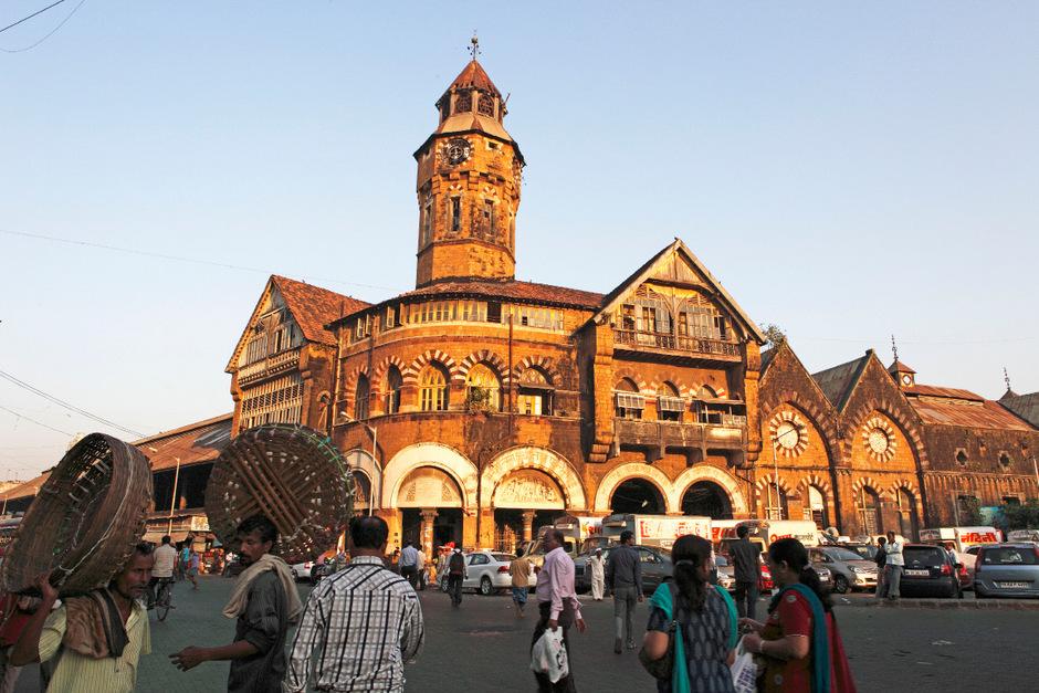 Der Crawford Market ist Mumbais erstes britisches Marktgebäude.