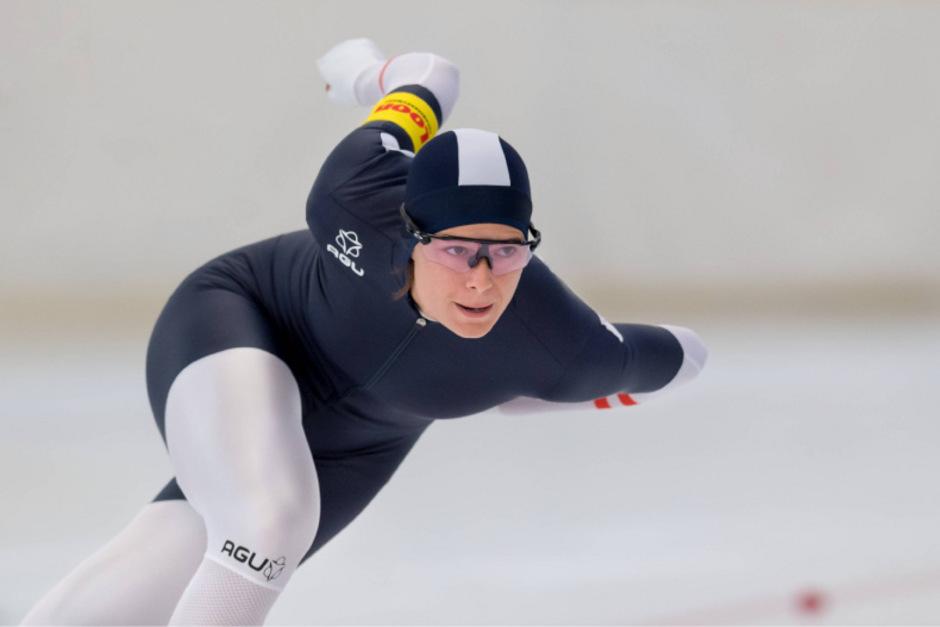 Vanessa Herzog zeigte in Obihiro mit einer starken Leistung auf.