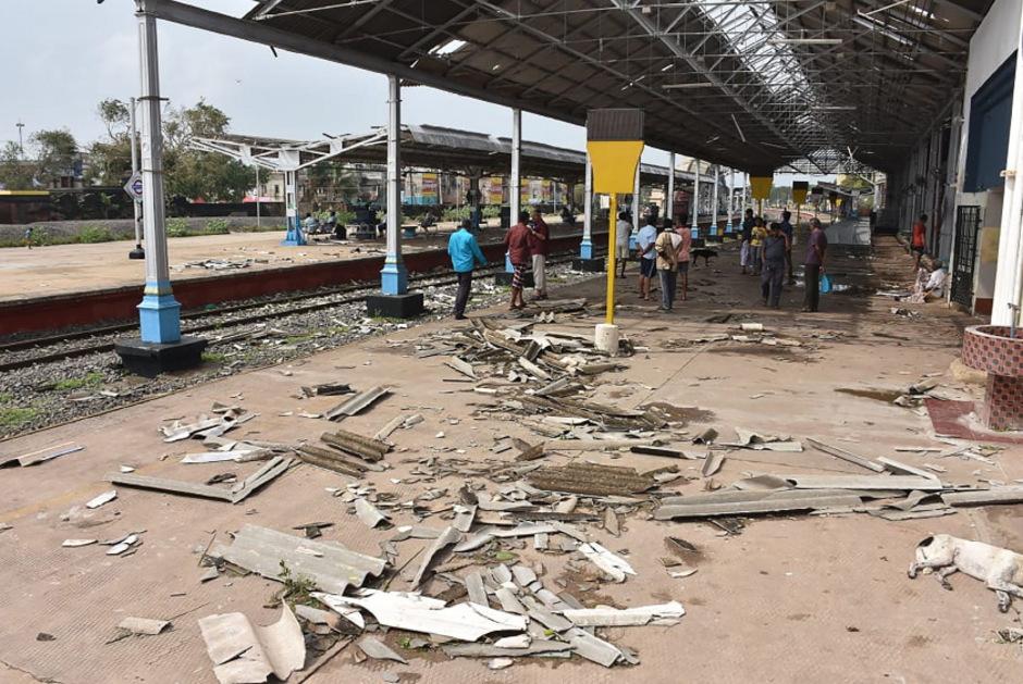 Wirbelsturm in Indien: 33 Menschen ums Leben gekommen
