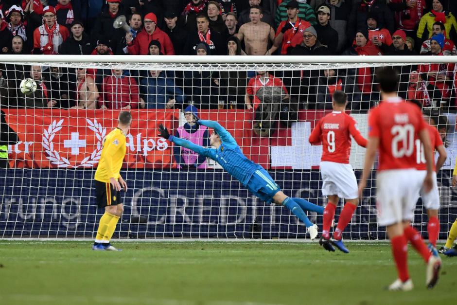 Schweiz holte sich drittes Finalticket mit 5:2 gegen Belgien