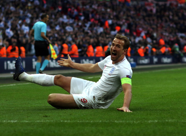 Englands Siegtorschütze Harry Kane.