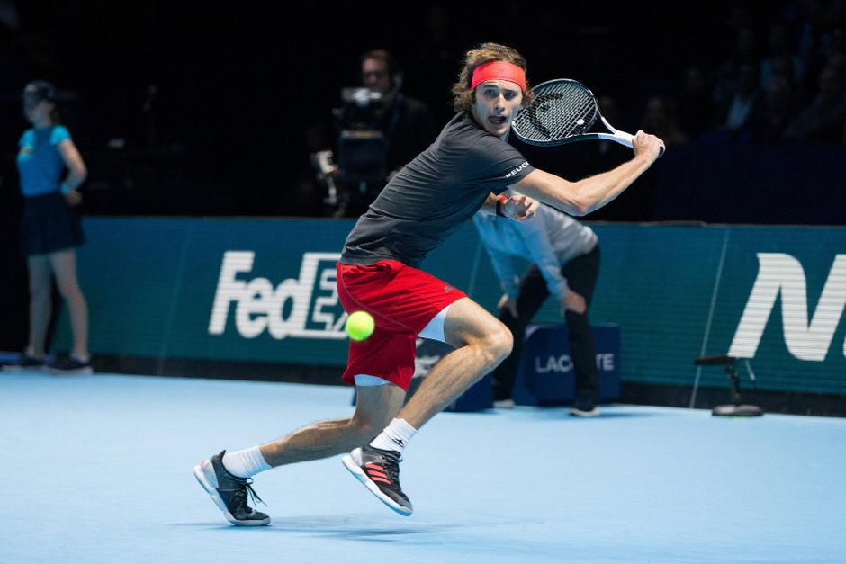 Alexander Zverev verhinderte  den sechsten Masters-Triumph des Weltranglisten-Ersten Djokovic.