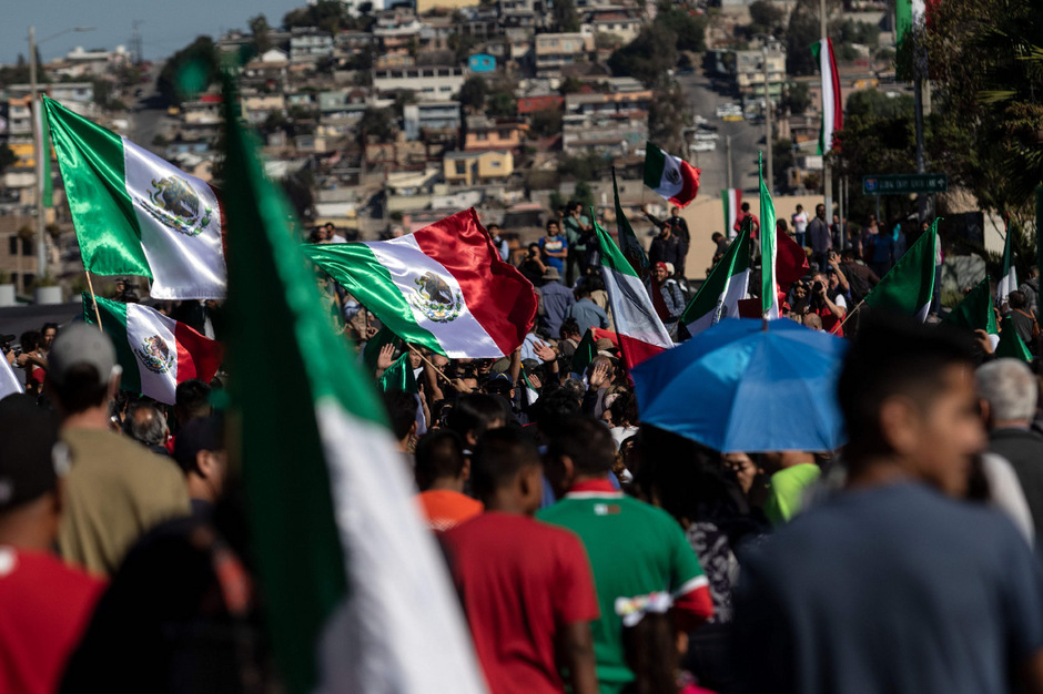 """Die Menschen in Mexiko sprechen - ähnlich wie Donald Trump - von einer """"Invasion""""."""