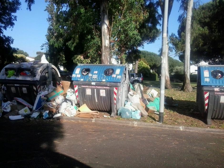 Müll ist nicht nur in Rom ist ein massive Problem. (Symbolfoto)