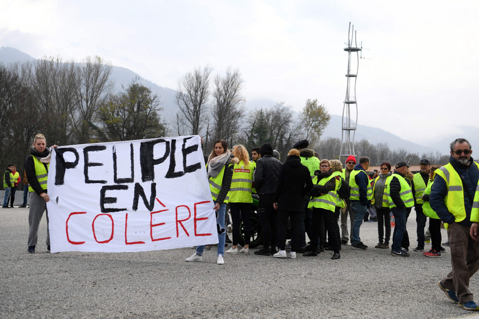290.000 Menschen waren in Frankreich am Samstag auf die Barrikaden gegangen.