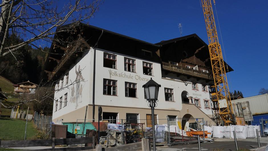 In Oberau entsteht ein neues Gemeindeamt.