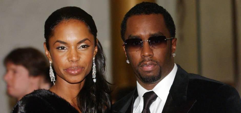 Rapper Diddy mit Kim Porter im Jahr 2004.