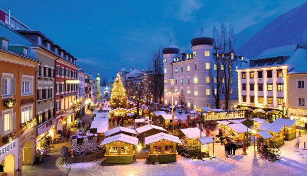 Lienzer Advent am Hauptplatz.