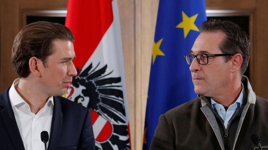 ÖVP-Chef Sebastian Kurz und FPÖ-Chef Heinz-Christian Strache sprechen zwar miteinander, aber nicht mit wichtigen Organisationen in Österreich.