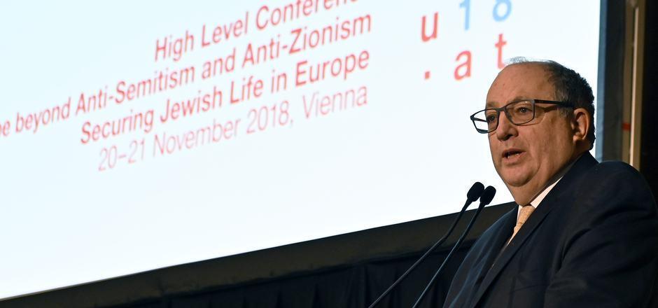 """EJC-Vizepräsident Ariel Muzicant sieht Europa am Scheideweg: """"Die nächsten Monate und Jahre sind entscheidend dafür, was mit den 1,5 Millionen Juden passiert, die auf diesem Kontinent leben."""""""