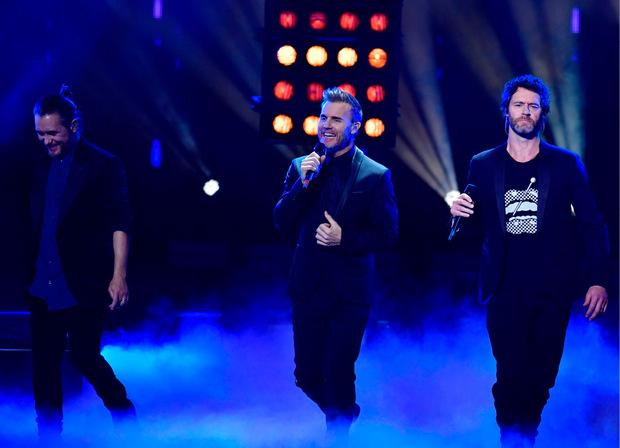 Nach der gefeierten Reunion 2011 besteht Take That nur mehr aus Mark Owen, Gary Barlow and Howard Donald.