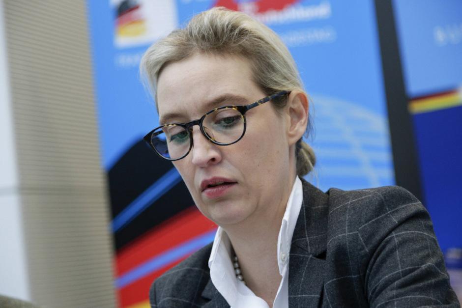 AfD-Fraktionschefin Alice Weidel.