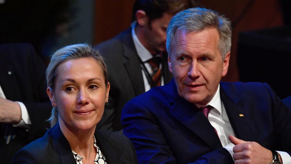 Bettina Wulff und ihr Mann Christian Wulff. Ende Oktober gab das Paar seine erneute Trennung bekannt.
