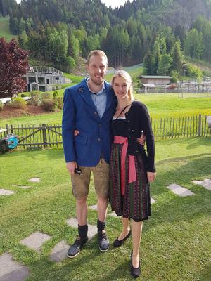Für Dominik Landertinger und seine Marion steht das nächste Großereignis bevor: die Geburt des ersten Kindes.