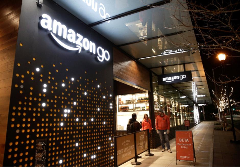"""Ein """"Amazon Go""""-Laden in Seattle."""