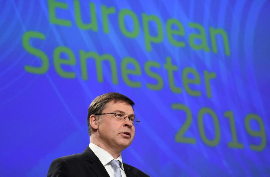 Valdis Dombrovskis, Vizepräsident der EU-Kommission.