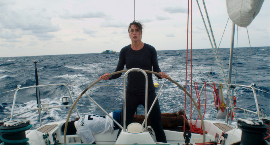 Susanne Wolff glänzt in der Rolle von Soloseglerin Rike, die auf hoher See an ihre Grenzen stößt.<span class=&quot;TT11_Fotohinweis&quot;>Foto: Filmladen</span>