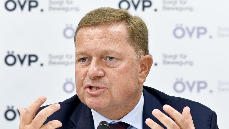ÖVP-Nationalratsabgeordneter Werner Amon.