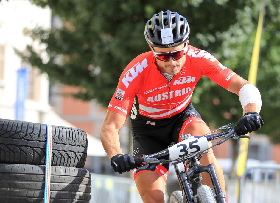 Nach zwei Mountainbike-WM-Titeln wird Daniel Federspiel nun zum Straßenrad-Profi.
