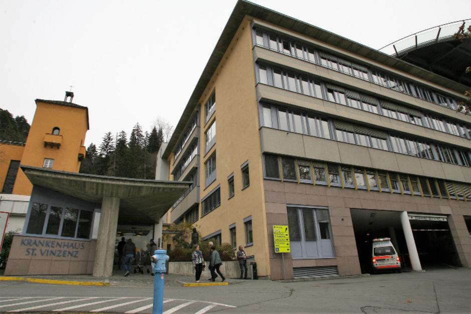 Krankenhaus St. Vinzenz in Zams.