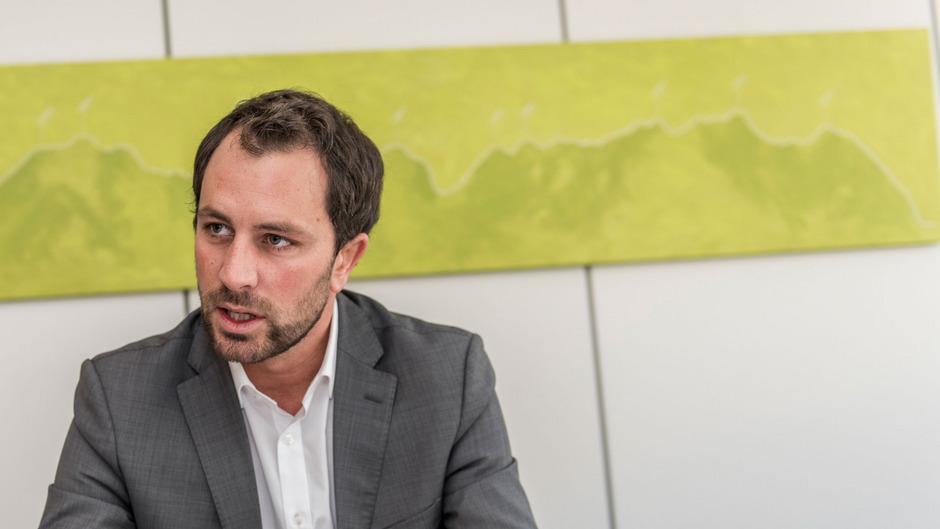 Der designierte Tiroler SPÖ-Chef Georg Dornauer.