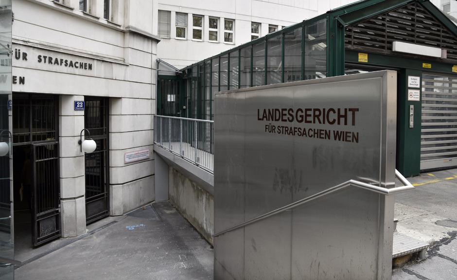 Das Landesgericht für Strafsachen Wien.