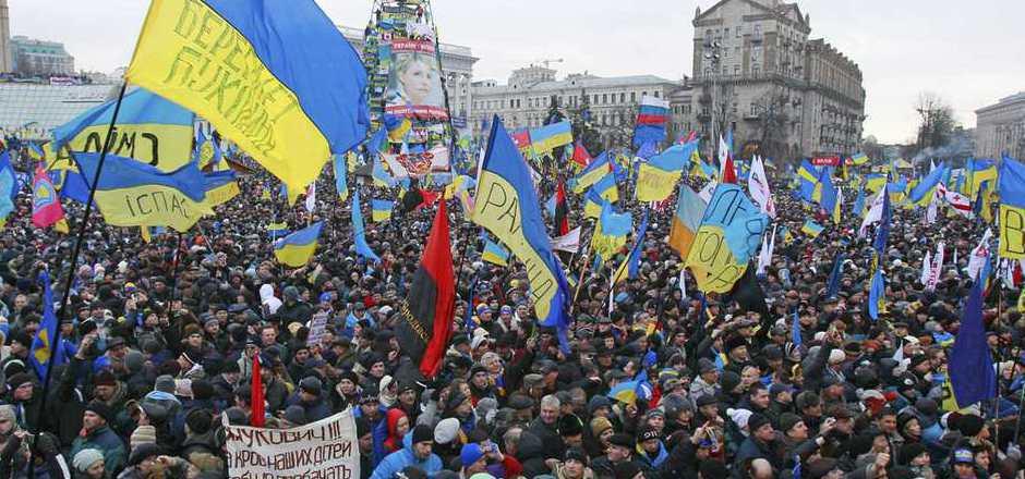 Am Maidan fanden vor fünf Jahren die proeuropäischen Proteste statt.