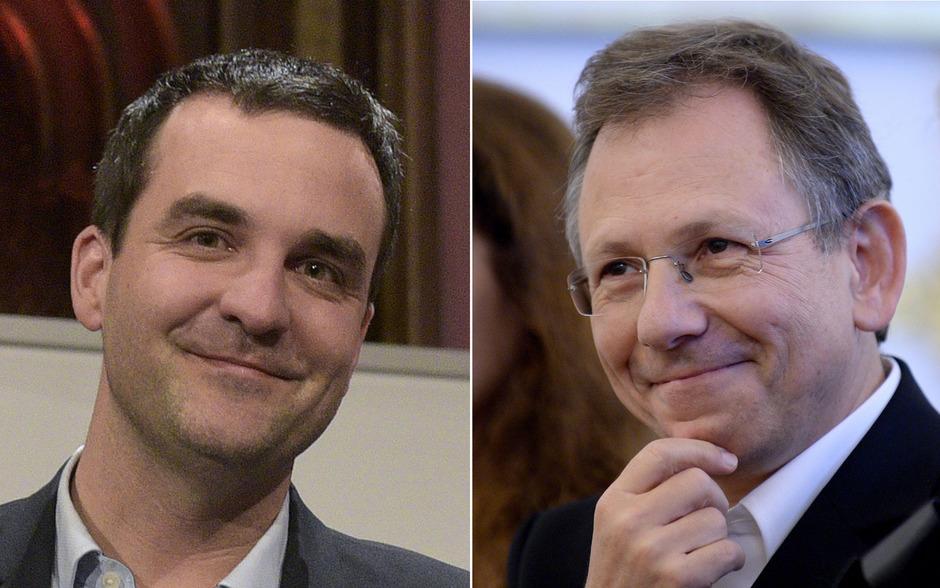 Ideengeber Florian Klenk (links) und Autor Doron Rabinovici.