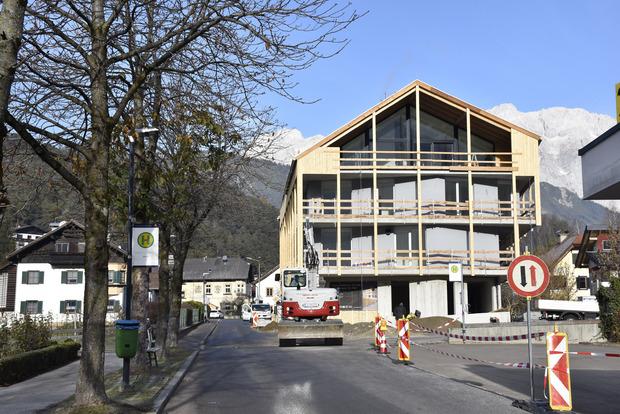 Im neuen Gebäude im Dorfzentrum soll ein Nahversorger entstehen.