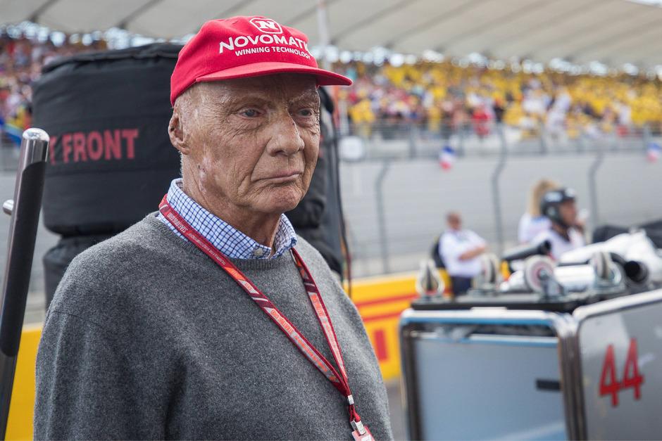 Niki Lauda musste sich im Sommer einer Lungentransplantation unterziehen.