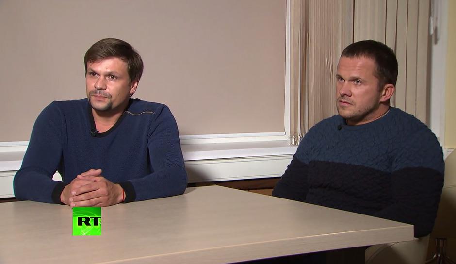 Die beiden Russen berichteten im staatsnahen Sender RT, sie seien als Touristen in England gewesen.
