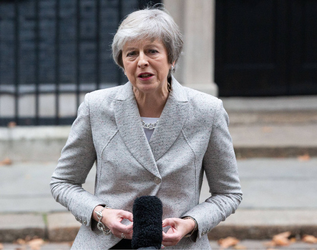 Die britische Premierministerin Theresa May.