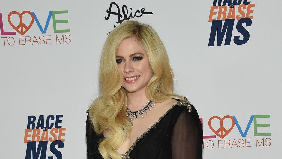 Sängerin Avril Lavigne.