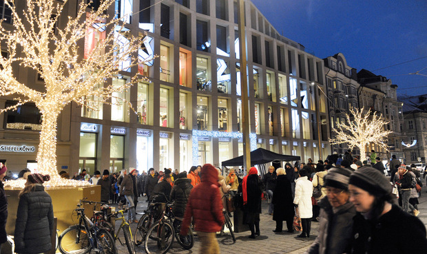 Die Neugestaltung des Kaufhaus Tyrol und der Maria-Theresien-Straße werden ebenfalls positiv bewertet.
