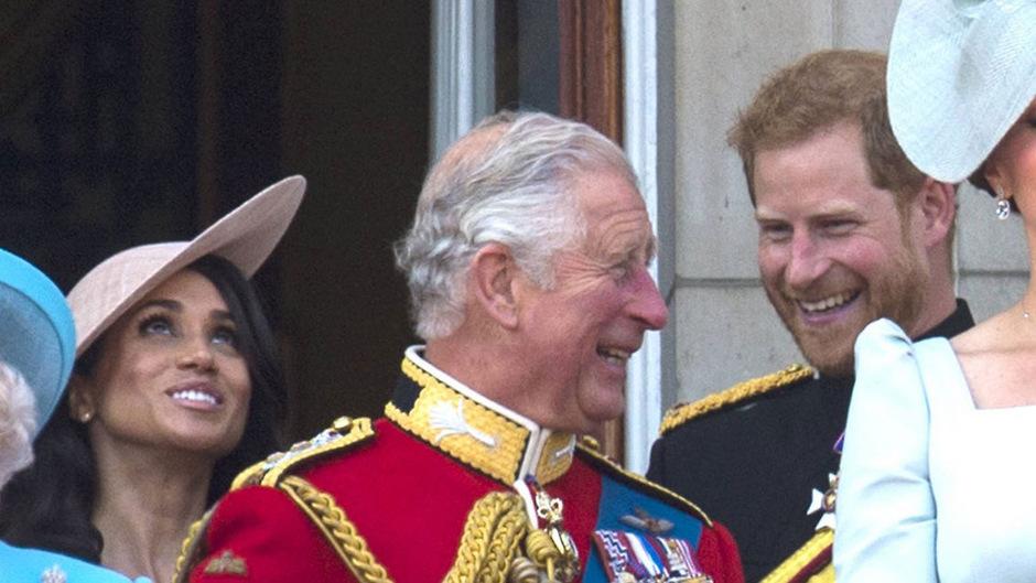 Prinz Charles war auf einer Feier scheinbar in Plauderlaune.