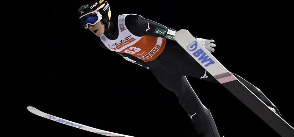 Skisprung-Premierensieger Ryoyu Kobayashi aus Japan.