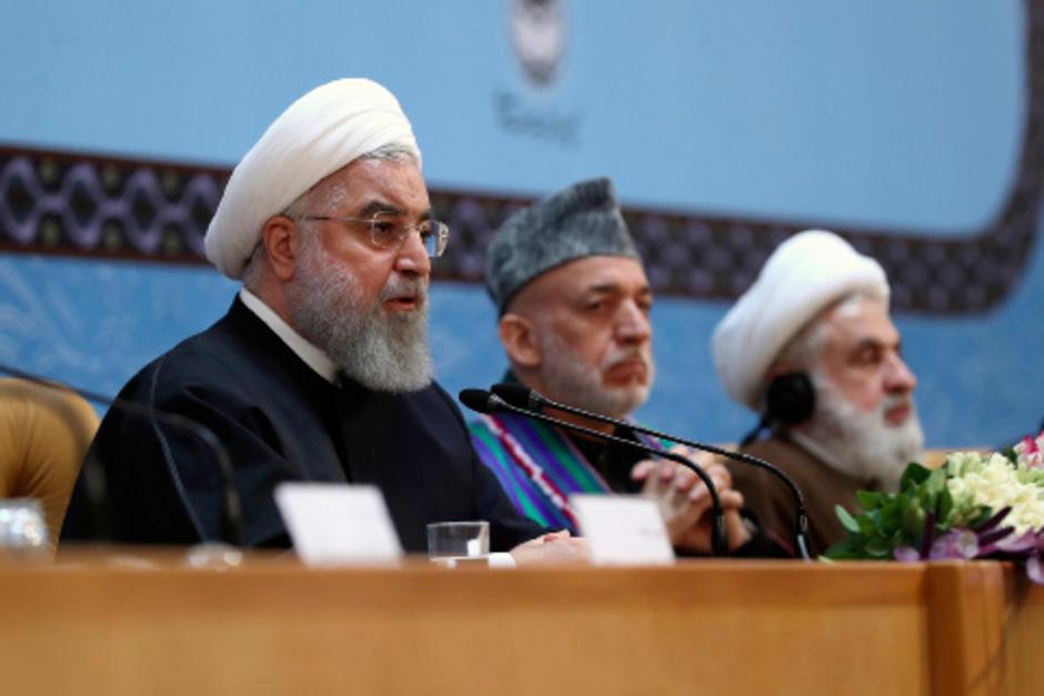 """""""Krebsgeschwür"""" Israel: Rouhani fordert islamische Einheit gegen USA"""