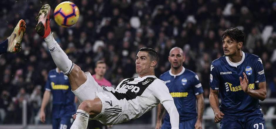 Cristiano Ronaldo trug sich wieder in die Torschützenlist ein.
