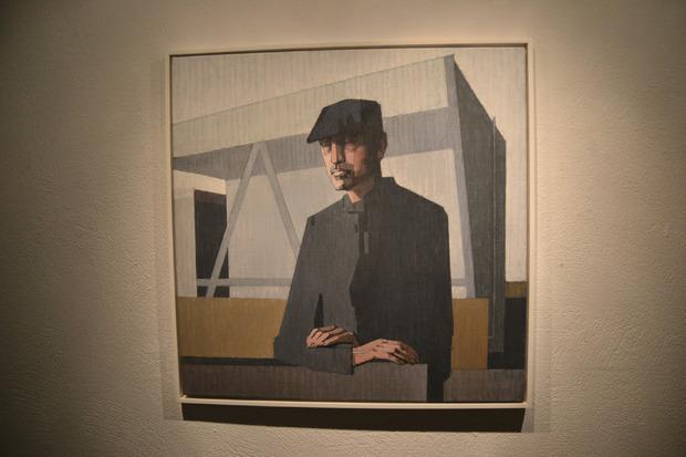 Zu sehen sind auch Porträts des Wörgler Malers.