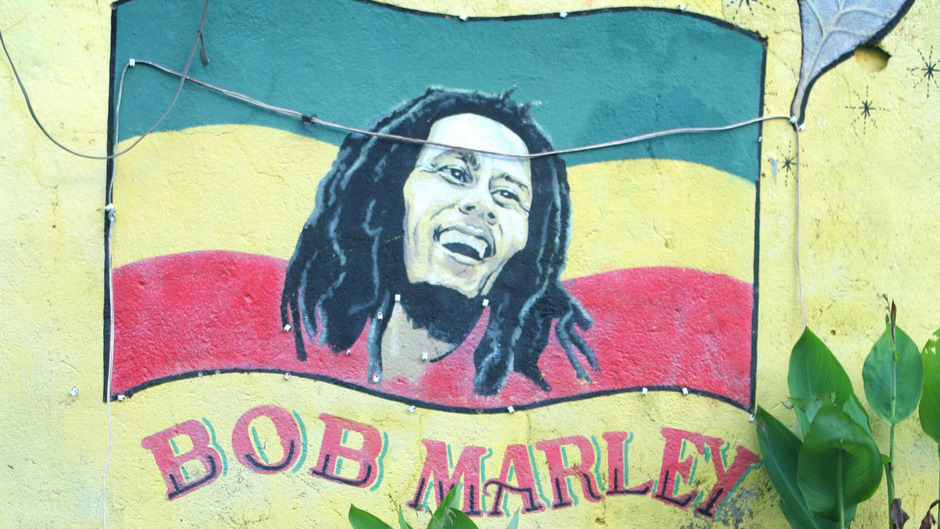 Bob Marley war einer der bedeutendsten Vertreter des Reggae.