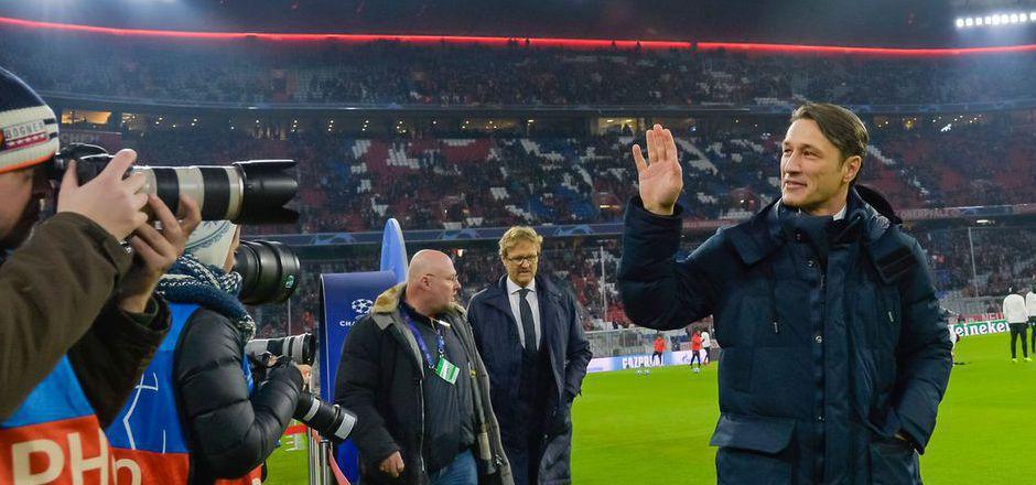 Niko Kovac sitzt nach dem 5:1 gegen Benfica wieder fester im Bayern-Sattel.