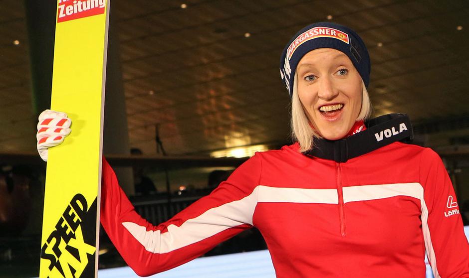 Daniela Iraschko-Stolz geht in Lillehammer an den Start.