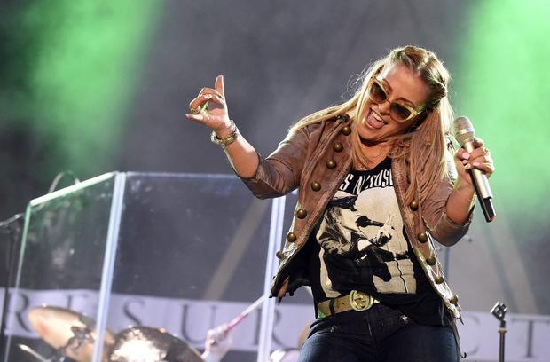 """Rockröhre Anastacia wird beim """"Stanton Ski Open"""" dem Publikum einheizen."""