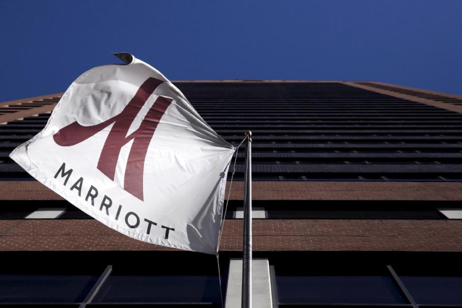 Das  Marriott-Hotel in New York.