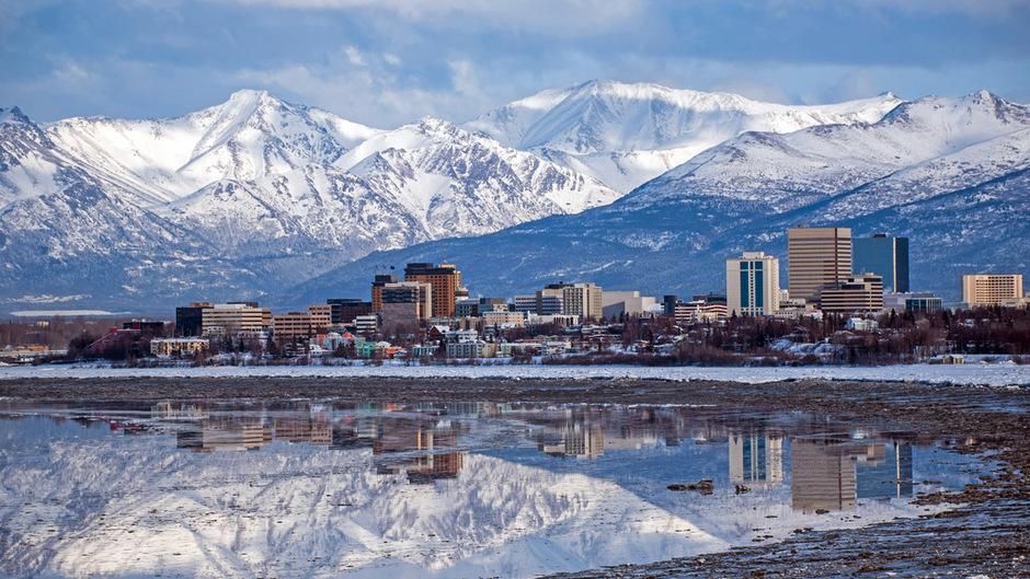 Die Stadt Anchorage in Alaska wurde von einem Erdbeben erschüttert.