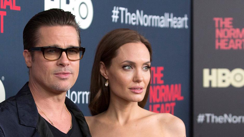 Als sie noch glücklich waren: Angelina Jolie und Brad Pitt bei einer Filmpremiere kurz vor ihrer Hochzeit 2014. Im Jahr 2016 trennten sich Brangelina.