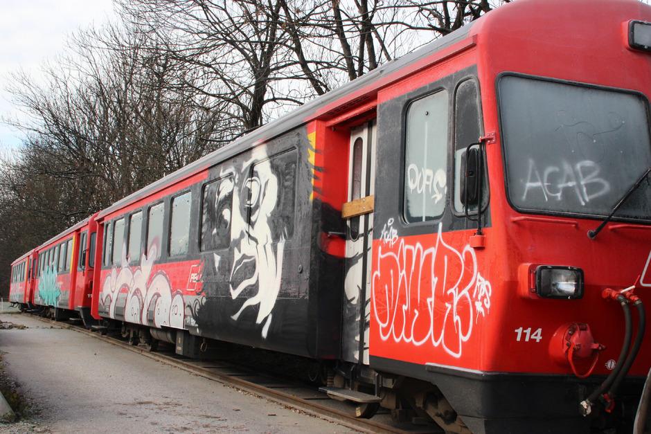 Die Achenseebahn.